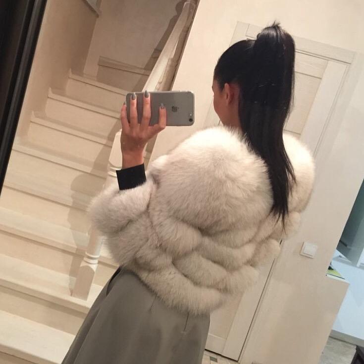 Cappotto di pelliccia Audrey